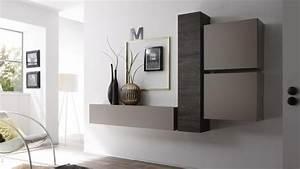 colonne suspendue linery de rangement horizontale With petit meuble d entree design 5 meuble tv fox sejour meuble tv