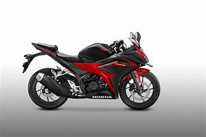 2017 Honda Cbr150r Victory Black Red Side