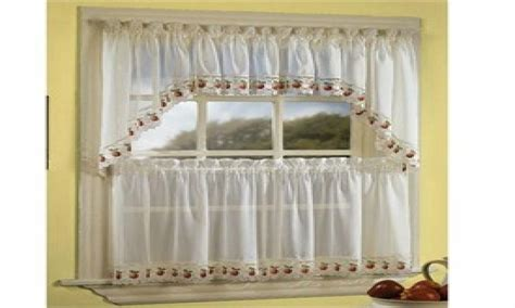 sheer kitchen curtains country style kitchen curtains