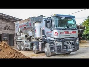 Centrale A Beton : camion centrale b ton mobile ets willame youtube ~ Melissatoandfro.com Idées de Décoration