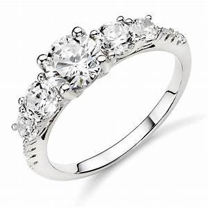 luxurious collections of silver diamond wedding rings With diamond silver wedding rings