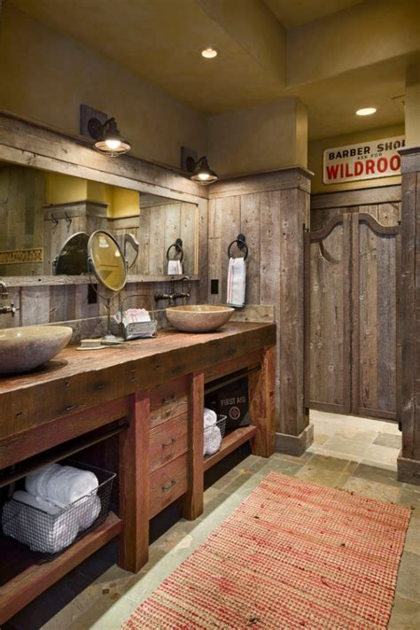 Rustic Bathroom Design by 16 Homely Rustic Bathroom Ideas To Warm You Up This Winter