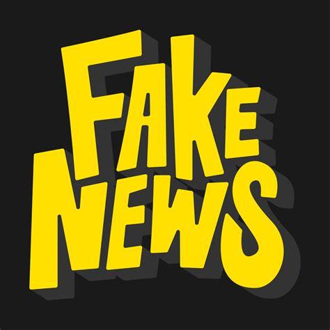 fake news word typography illustration   vectors clipart graphics vector art