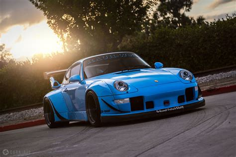 Insane Riviera Blue Porsche Rwb 911 Rare Cars For Sale