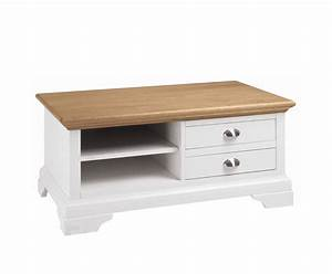 hampstead two tone coffee table ivory and oak uk delivery With two tone wood coffee table