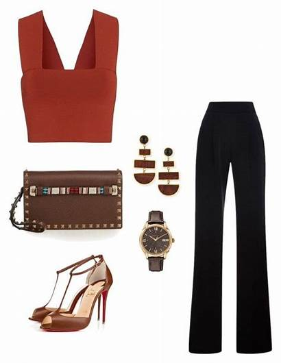 Polyvore Heels Outfits Louboutin Casual Date