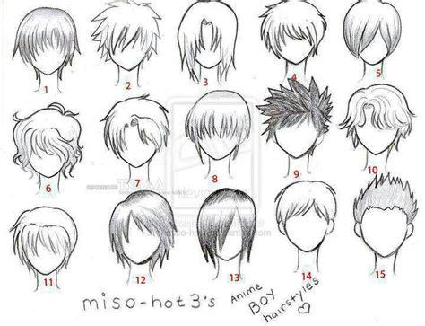 Anime Template by Anime Hair Boy Template Anime Anime