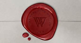 wax seal logo mock  template vol psd mock