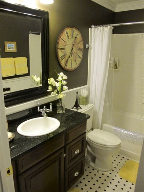 bathroom ideas for small areas black and yellow bathroom quarter moon rooms