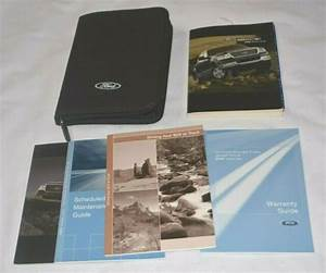 2005 Ford F150 Owners Manual Guide Book Set With Case Oem