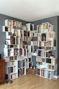 Bibliotheque Angle Ikea : photos de clients satisfaits cubit am nagement en 2018 pinterest tag re tag res ~ Teatrodelosmanantiales.com Idées de Décoration