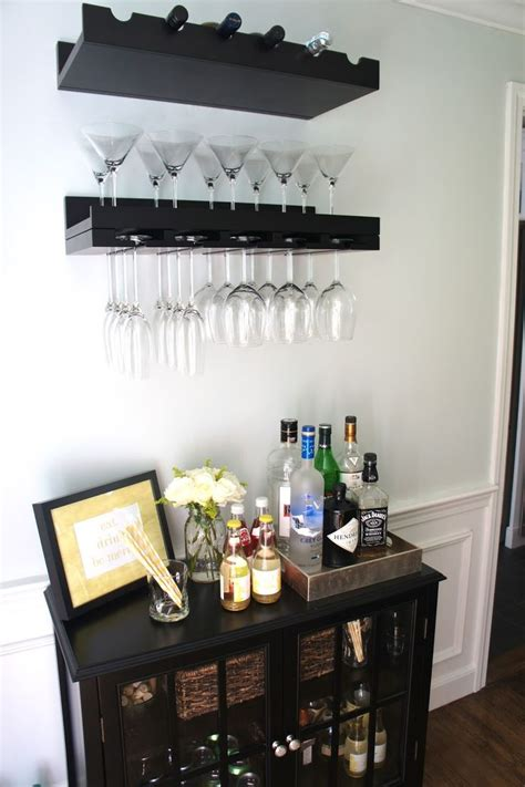 floating wall shelf wood best 25 small bars ideas on small bar areas