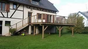 terrasse bois jardin terrasses et piscines moirans With beautiful decoration jardin zen exterieur 11 deco piscine pour un exterieur confortable et elegant