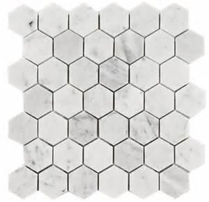 11 75sf carrara venato 2 quot hexagon honed mosaic tile