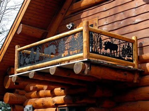 log cabin loft railing ideas google search cabin