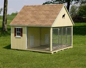 Inside Outside Dog Kennel