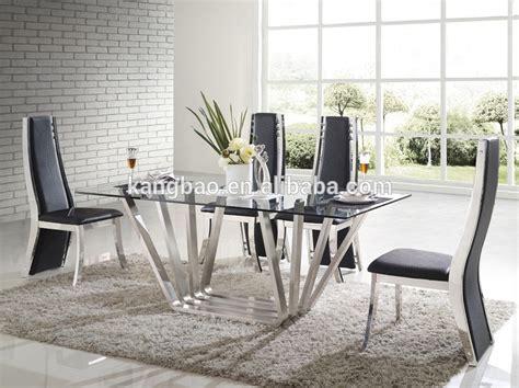 muebles de vidrio kangbao superiorbase de acero