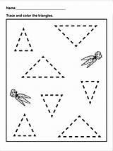 Dreiecke sketch template