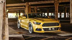 Ford Mustang Yellow, HD Cars, 4k Wallpapers, Images, Backgrounds, Photos and Pictures