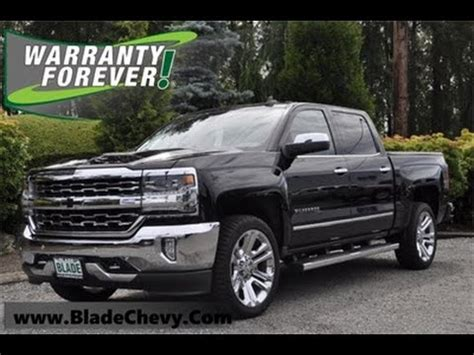 chevrolet silverado  ltz high country