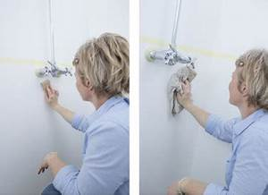 preparation murs salle de bain avant peinture hydroactiv With preparation murs avant peinture