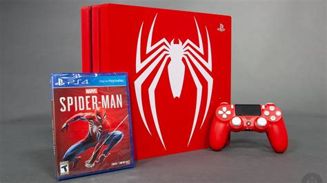 Spiderman Limited Edition Ps4 Pro Bundle Detailed In