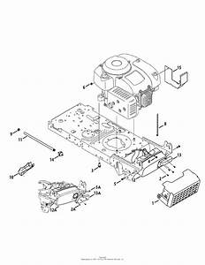 Mtd 13a277ss299  247 288870   Lt1500   2013  Parts Diagram