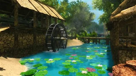 Animated Tropical Wallpaper - skyrim animated wallpaper wallpapersafari
