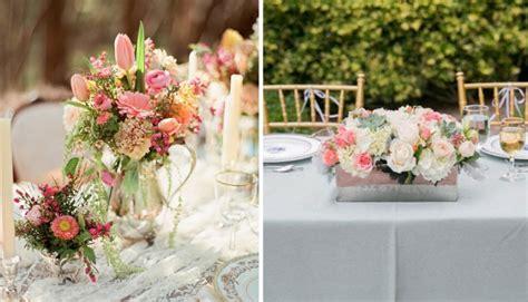 Tisch Blumenschmuck Hochzeit