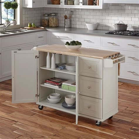 white kitchen cart island dolly liberty white kitchen cart 4511 95 the