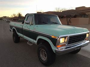 1979 Ford F-150 Ranger Xlt Highboy  Classic Pickup 6 6l 4x4 V8  Offroad  Lifted
