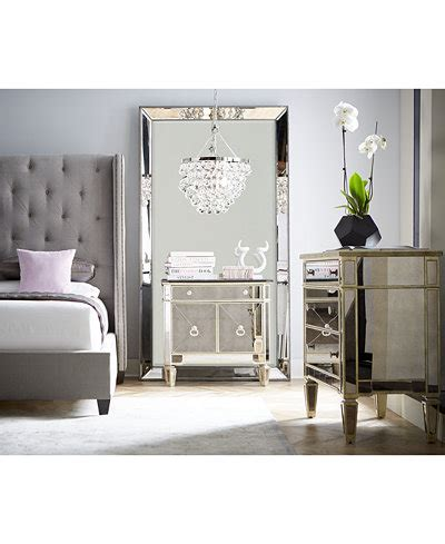 floor mirror macy s marais mirrored furniture collection furniture macy s