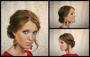 Coiffure Simple Femme : coiffure simple pour femme coiffure simple et rapide coiffure simple et facile ~ Melissatoandfro.com Idées de Décoration