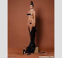 Kim Kardashian S Meltdown At Nude Magazine Cover Three Years Before Full Frontal Photoshoot