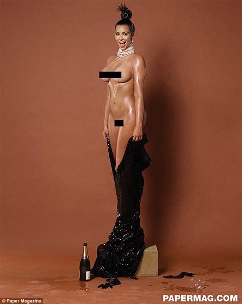 Kim Kardashian S Meltdown At Nude Magazine Cover Three