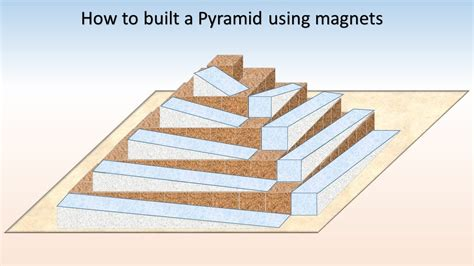 """Build A Pyramid Using Magnetspart 1 """"the Side Case Ramps"""