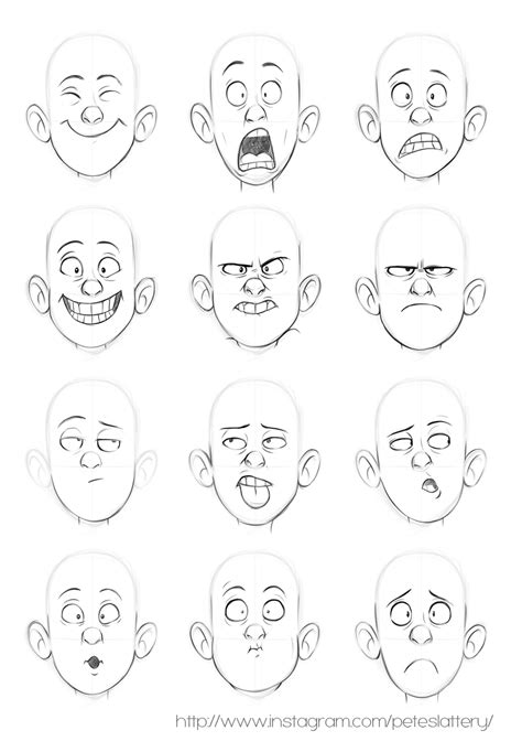 faces  peteslattery  deviantart character pose