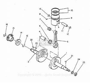 Robin  Subaru Ec10d Yamamoto Parts Diagram For Crankshaft