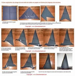 Pliage En Papier : pliage en papier r aliser un chapeau de sorciere avec une ~ Melissatoandfro.com Idées de Décoration
