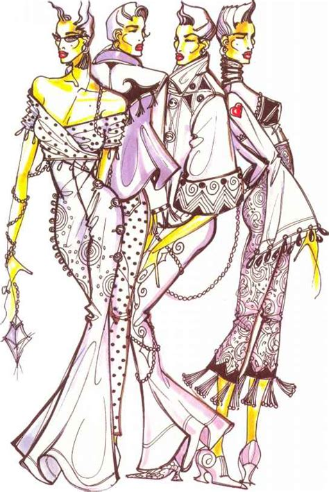 stylised fashion figures fashion design joshua nava arts