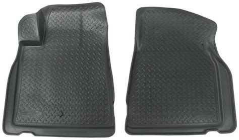 floor mats chevy traverse floor mats for 2012 chevrolet traverse husky liners hl31011