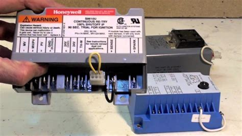 gas furnace spark ignition controls youtube