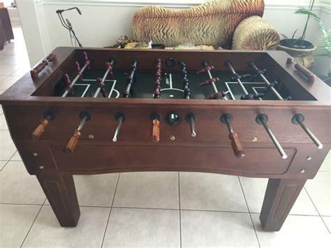 professional foosball table harvard  soccer table