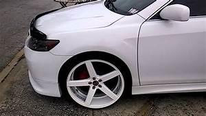 2010 Toyota Camry Led Lights Camry Custom 22 Wheels Rims Led Lights Xle Youtube
