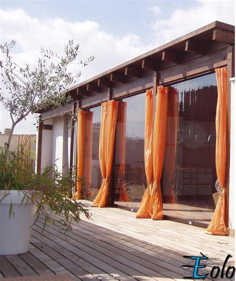 tende terrazzo tenda antivento in cristal