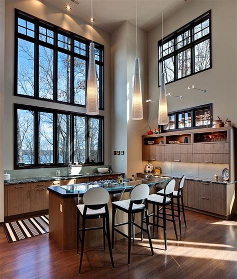 Artistic High Ceiling Design  Bright Room Housebeauty