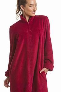 c39est la mode robe de chambre douce en polaire With robe de chambre avec fermeture eclair