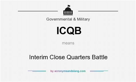 what is the definition of siege what does icqb definition of icqb icqb stands