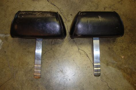 mustang convertible restoration safety  headrests