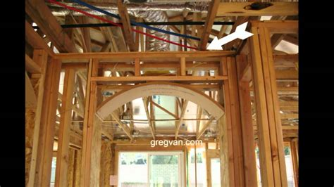how to remove a load bearing interior wall interior non bearing wall engineered roof truss